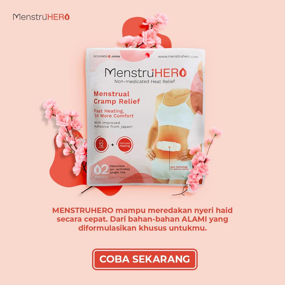 call to action CTA Menstruhero
