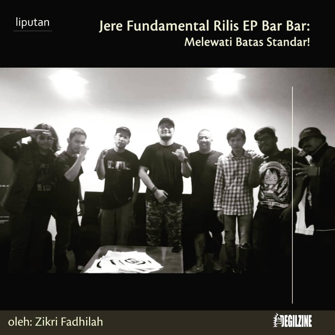 Jere Fundamental Rilis EP Bar Bar