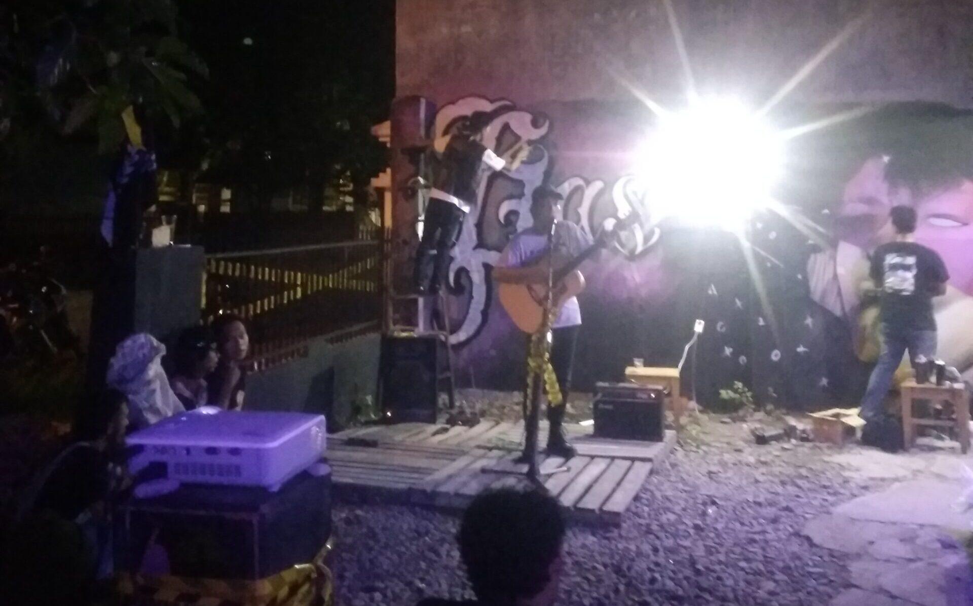 Pameran Mini Medan Solidaritas Pameran Anak Muda SPAM Vandal