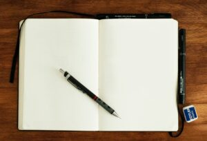 The amount of times I have tried to find a decent photo of a blank sketch book is too many. So I decided to create a few, starting with this one.